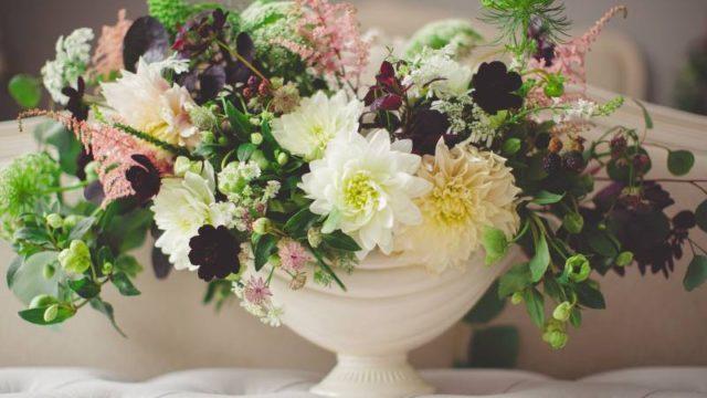 花瓶のブーケ