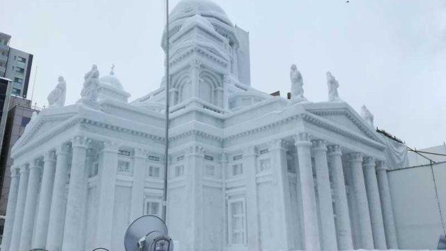 さっぽろ雪まつり雪像